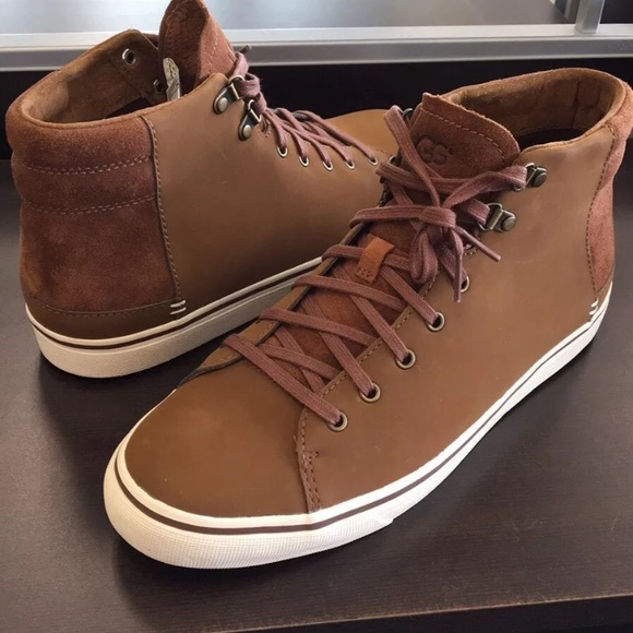 c212f8d6aca 🎁New Ugg Hoyt High tops Chestnut sneakers 9 or 8 NWT